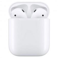 Наушники с микрофоном Apple AirPods 2 (с беспроводным зарядным футляром) MRXJ2