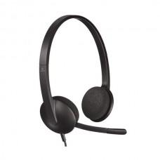 Наушники с микрофоном Logitech PC Headset H340 USB (981-000475)