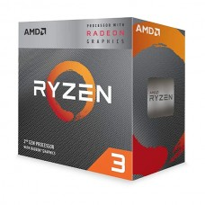 Процессор AM4 RYZEN 3 2200G (3.5GHz, Boost 3.7Ghz 4MB) BOX