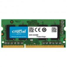 Модуль памяти SODIM DDR3 4Gb Crucial 1600 CT51264BF160B (1,35v)