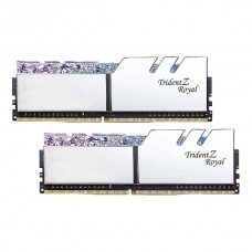 Модуль памяти DDR4 16Gb G.Skill 3000 Trident Z Royal Silver F4-3000C16D-16GTRS (2x8Kit)